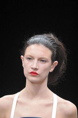 Ear, Nose, Lip, Mouth, Hairstyle, Skin, Chin, Shoulder, Eyebrow, Eyelash,