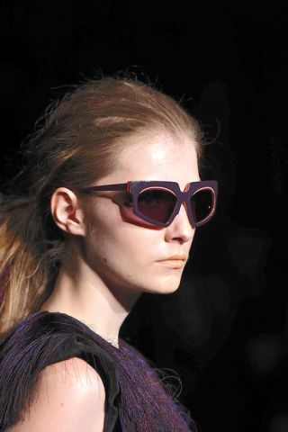 Eyewear, Glasses, Ear, Goggles, Vision care, Hairstyle, Chin, Sunglasses, Style, Earrings,