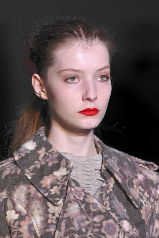 Lip, Mouth, Cheek, Military camouflage, Hairstyle, Skin, Chin, Forehead, Camouflage, Soldier,