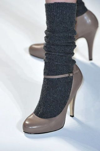 Footwear, High heels, Joint, Costume accessory, Fashion, Boot, Basic pump, Tan, Sandal, Leather,