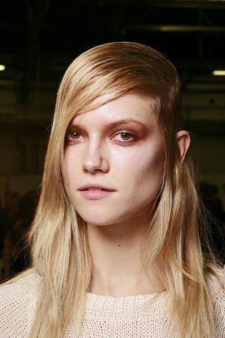 Hair, Nose, Lip, Cheek, Mouth, Brown, Hairstyle, Eye, Skin, Chin,