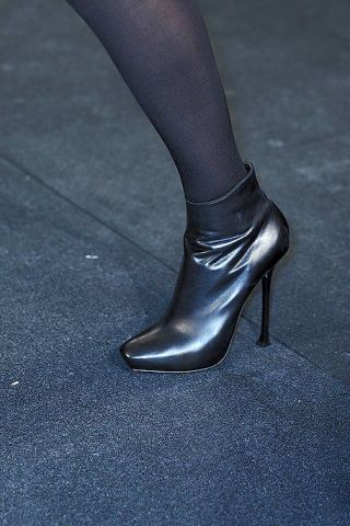 Brown, Leather, Black, Grey, High heels, Silver, Dress shoe, Boot,