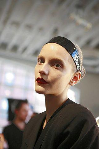 Ear, Nose, Chin, Forehead, Eyebrow, Headgear, Fashion, Temple, Hair accessory, Makeover,