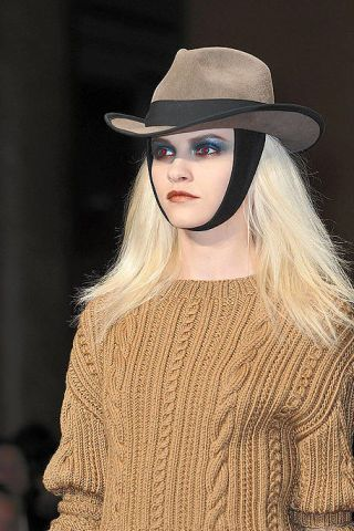 Clothing, Hat, Sleeve, Style, Fashion accessory, Headgear, Street fashion, Costume accessory, Fashion, Long hair,