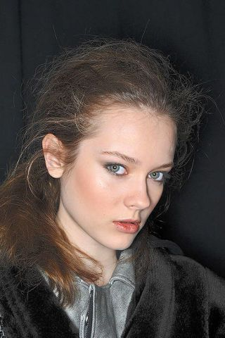 Hair, Nose, Lip, Cheek, Mouth, Hairstyle, Chin, Forehead, Eyebrow, Eyelash,