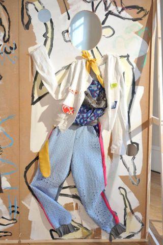 Visual arts, Costume design, Modern art, Skeleton,