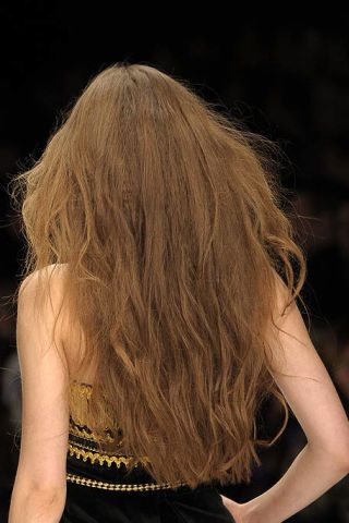 Brown, Hairstyle, Shoulder, Style, Back, Waist, Beauty, Long hair, Fashion, Blond,