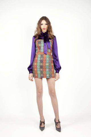 Clothing, Sleeve, Human leg, Human body, Shoulder, Joint, Dress, One-piece garment, Fashion show, Style,