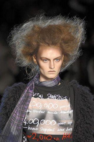 Lip, Hairstyle, Eyebrow, Textile, Style, Eyelash, Street fashion, Fashion, Fashion model, Fur,
