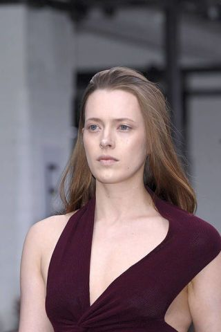 Clothing, Hair, Lip, Hairstyle, Shoulder, Dress, Beauty, Fashion, Neck, Chest,