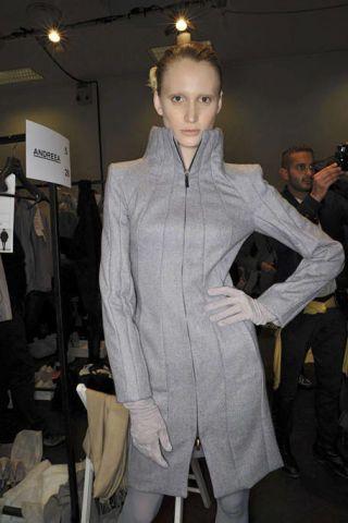 Hairstyle, Human body, Style, Fashion, Fur, Fashion design, Blond, Glove, Light fixture, Fashion model,