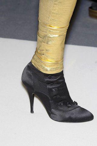 Fashion, Beige, Boot, Fashion design, High heels, Leather,