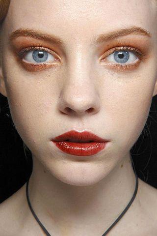 Lip, Cheek, Mouth, Brown, Skin, Chin, Forehead, Eyelash, Eyebrow, Eye shadow,