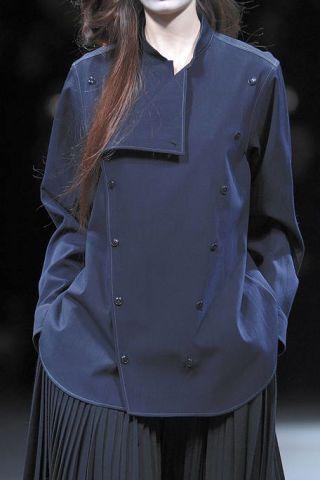 Clothing, Collar, Sleeve, Textile, Dress shirt, Formal wear, Style, Uniform, Fashion, Black,