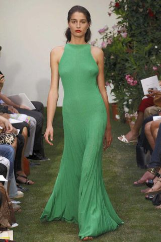 Green, Shoulder, Dress, Joint, Formal wear, Style, Gown, Fashion model, One-piece garment, Fashion,
