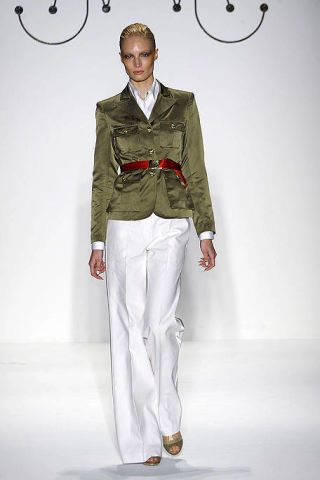 Collar, Sleeve, Standing, White, Style, Fashion, Blazer, Fashion model, Pocket, Waist,