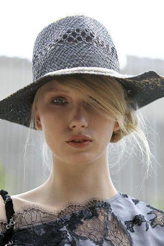 Hat, Lip, Hairstyle, Headgear, Fashion accessory, Costume accessory, Sun hat, Beauty, Fashion, Cool,