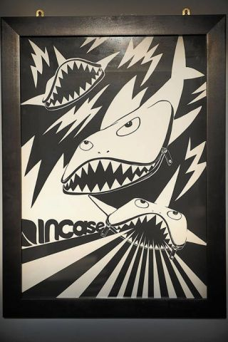Tooth, Fictional character, Art, Illustration, Poster, Painting, Visual arts, Drawing, Fang, Graphics,