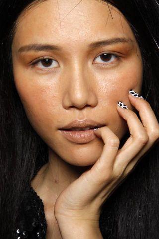 Face, Nose, Finger, Lip, Cheek, Mouth, Hairstyle, Skin, Eye, Chin,
