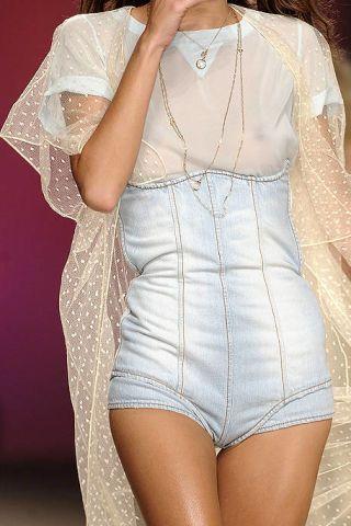 Clothing, Sleeve, Textile, Joint, White, Denim, Pattern, Fashion, Thigh, Embellishment,