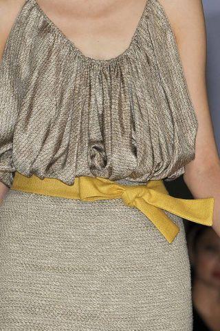 Yellow, Textile, Denim, Fashion, Grey, Waist, Beige, Pocket, Sleeveless shirt, Fashion design,