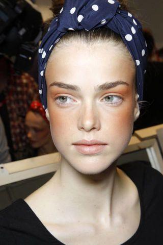Lip, Cheek, Chin, Forehead, Eyebrow, Eyelash, Style, Headgear, Hair accessory, Pattern,