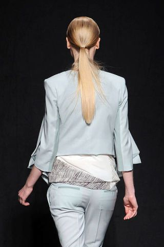 Sleeve, Trousers, Shoulder, Textile, Collar, Joint, Outerwear, White, Style, Formal wear,