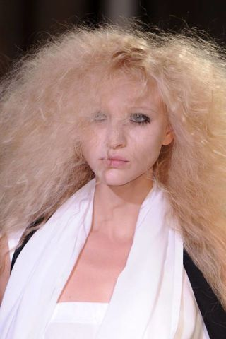 Nose, Lip, Cheek, Hairstyle, Skin, Chin, Forehead, Eyebrow, White, Jaw,