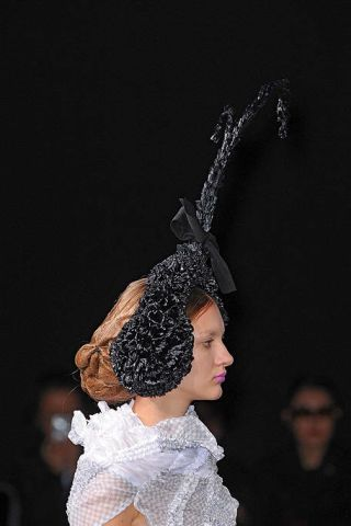 Headgear, Costume accessory, Fashion, Costume design, Darkness, Headpiece, Hair accessory, Costume, Fashion design, Embellishment,