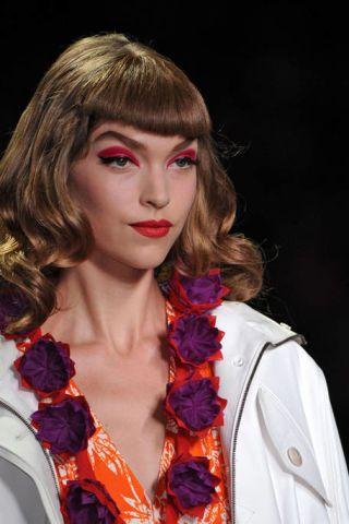 Lip, Hairstyle, Eyebrow, Style, Eyelash, Fashion, Beauty, Fashion model, Model, Makeover,