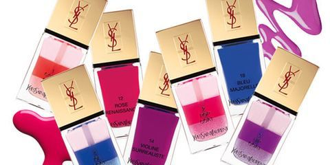 To Die For: YSL's Tie-Dyed Nails