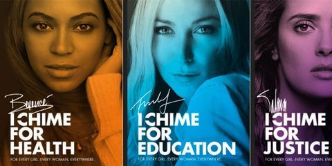 Beyoncé to Headline Chime for Change Concert