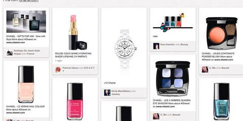 Chanel Is the Favored Fashion Search Term on Pinterest