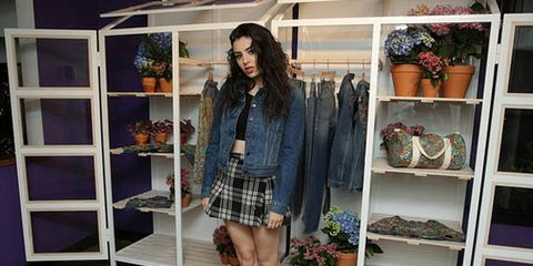 Charli XCX Celebrates the Levi's x Liberty London Collaboration