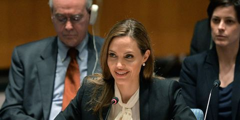 News: Angelina Jolie's Speech at the United Nations Is a Must-Watch; Karl Lagerfeld Enlists His Bodyguard as a Model