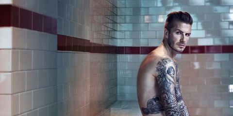 David Beckham Strips Down for New H&M Campaign