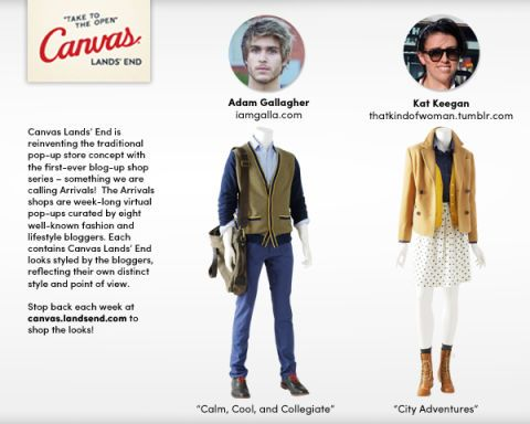 efaaeb8d80 Lands' End Canvas Blog-Up Shop - I am Galla and That Kind of Woman ...