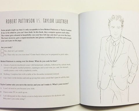 Robert Pattinson Rpattz Coloring Book Colour Me Good Mel Elliott