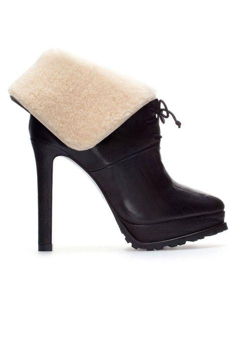 Footwear, High heels, Fashion, Black, Tan, Leather, Beige, Material property, Basic pump, Foot,