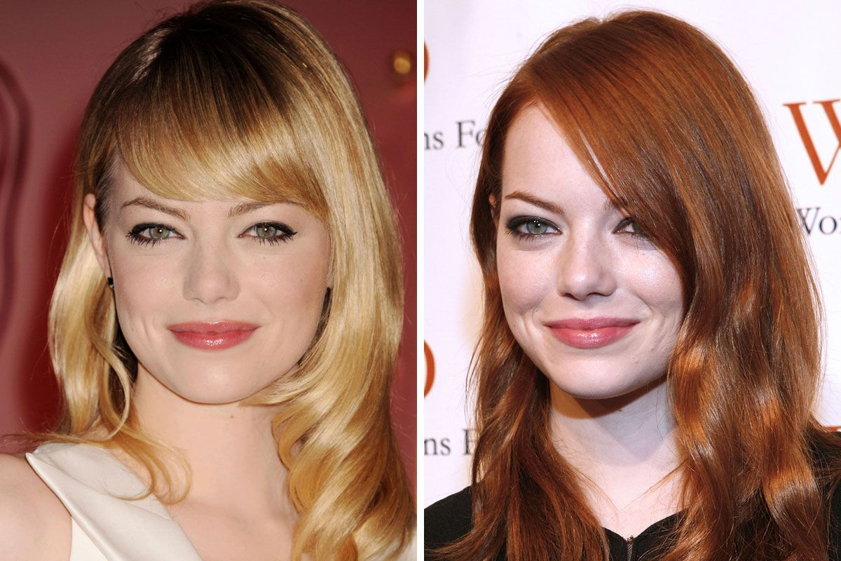 Celebs who dyed hair red celebrities with red hair urmus Gallery