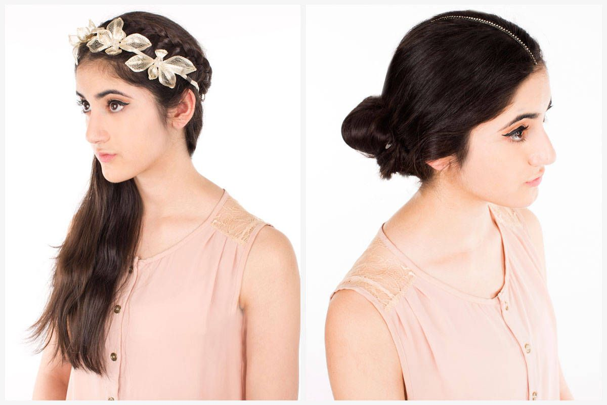 Diy flower crown how to make and wear a flower crown izmirmasajfo Choice Image