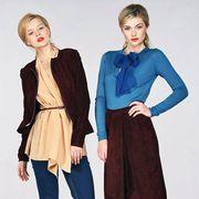 Clothing, Footwear, Leg, Blue, Sleeve, Collar, Shoulder, Textile, Standing, Joint,