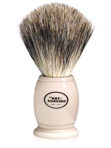 art of shaving badger shave brush