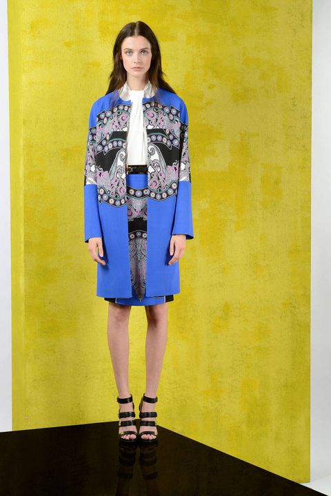 Clothing, Yellow, Style, One-piece garment, Electric blue, Dress, Fashion, Street fashion, Fashion model, Cobalt blue,