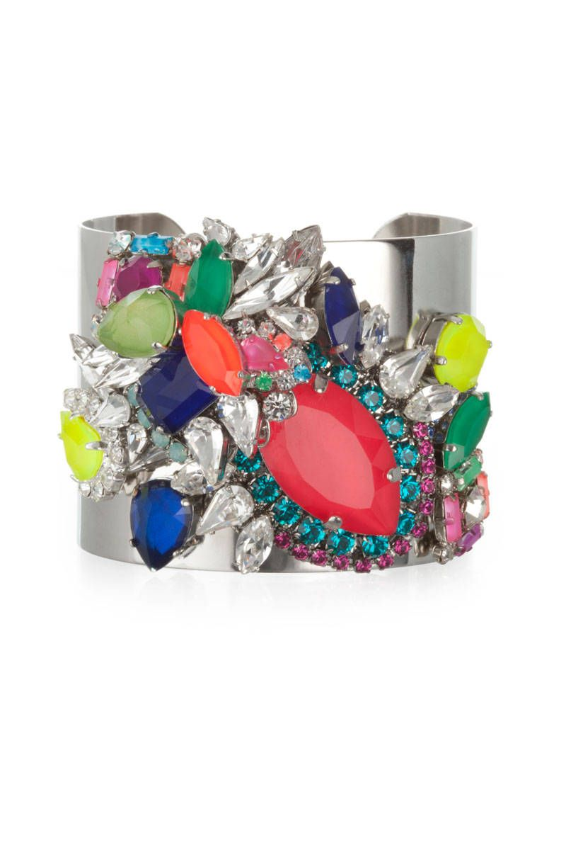 erickson beamon color me crazy cuff