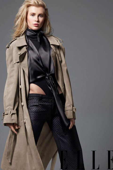Clothing, Sleeve, Textile, Outerwear, Style, Fashion model, Fashion, Jacket, Leather, Fashion show,