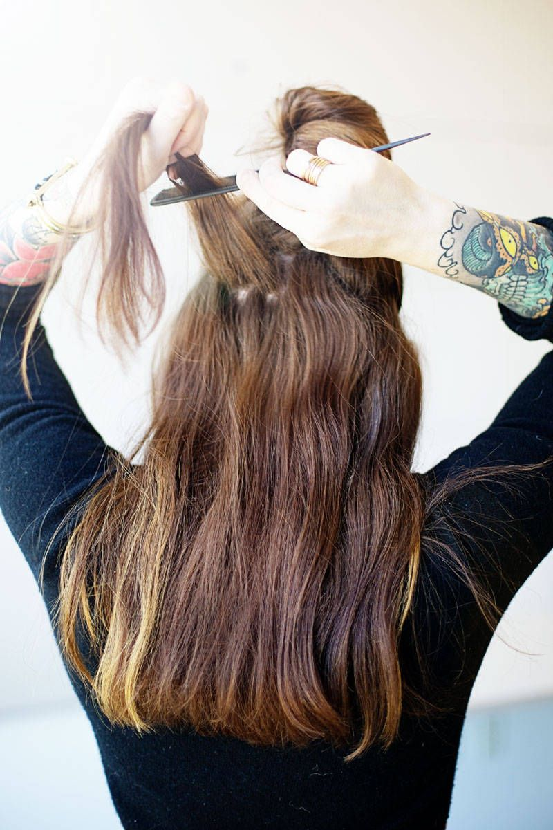 Best clip in hair extensions how to put in hair extensions pmusecretfo Choice Image