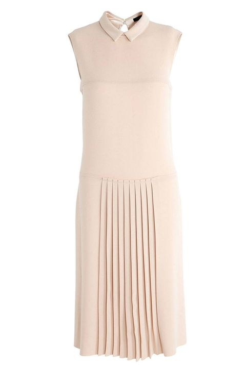 joseph casey drop waist pleated dress