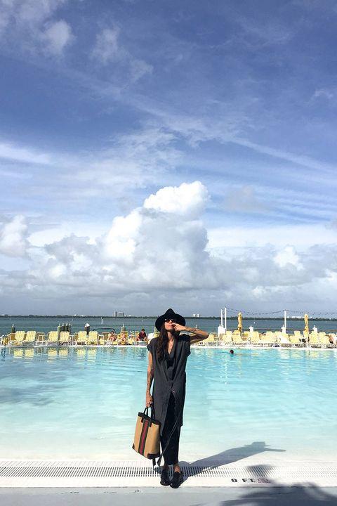 Sky, Cloud, Horizon, Tourism, Vacation, Travel, Dress, Ocean, Aqua, Cumulus,