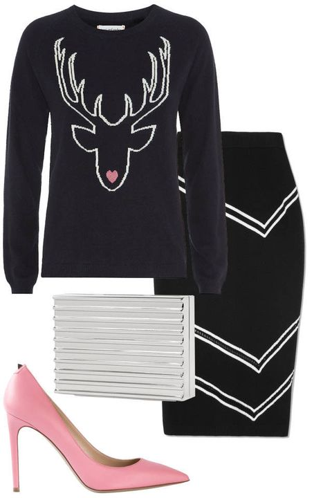 Product, Sleeve, Collar, White, Style, Carmine, Fashion, Neck, Black, Basic pump,